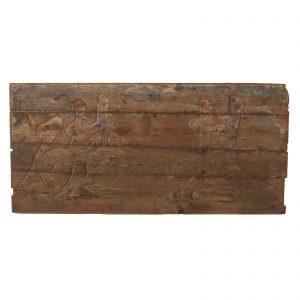 Enseigne, sculpte, Chine, antique, bois, Calligraphie
