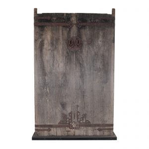 Pair of doors, China, Shanxi, Antic, Main gate, Oriental, Elm wood, 19 century, ancient