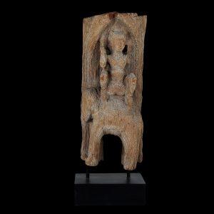 Chofa fragment, antique, asia, Myanmar, Burma, elefant, eroded teak wood, 19 century, temple roof, oriental art, decoration