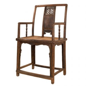 """Fauteuil """" southern official's hat"""", Chine, Shanxi, antique, orme, lacque, dynastie Ming, 18 siecle, mobilier oriental"""