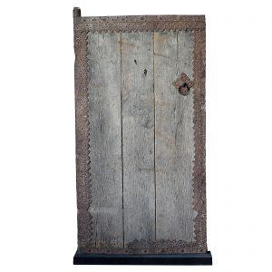 Door panel, antique, Chian, Shanxi, 19 century, elm wood