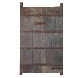 Paire de portes, antique, Chine, Shanxi, 19 siecle, orme