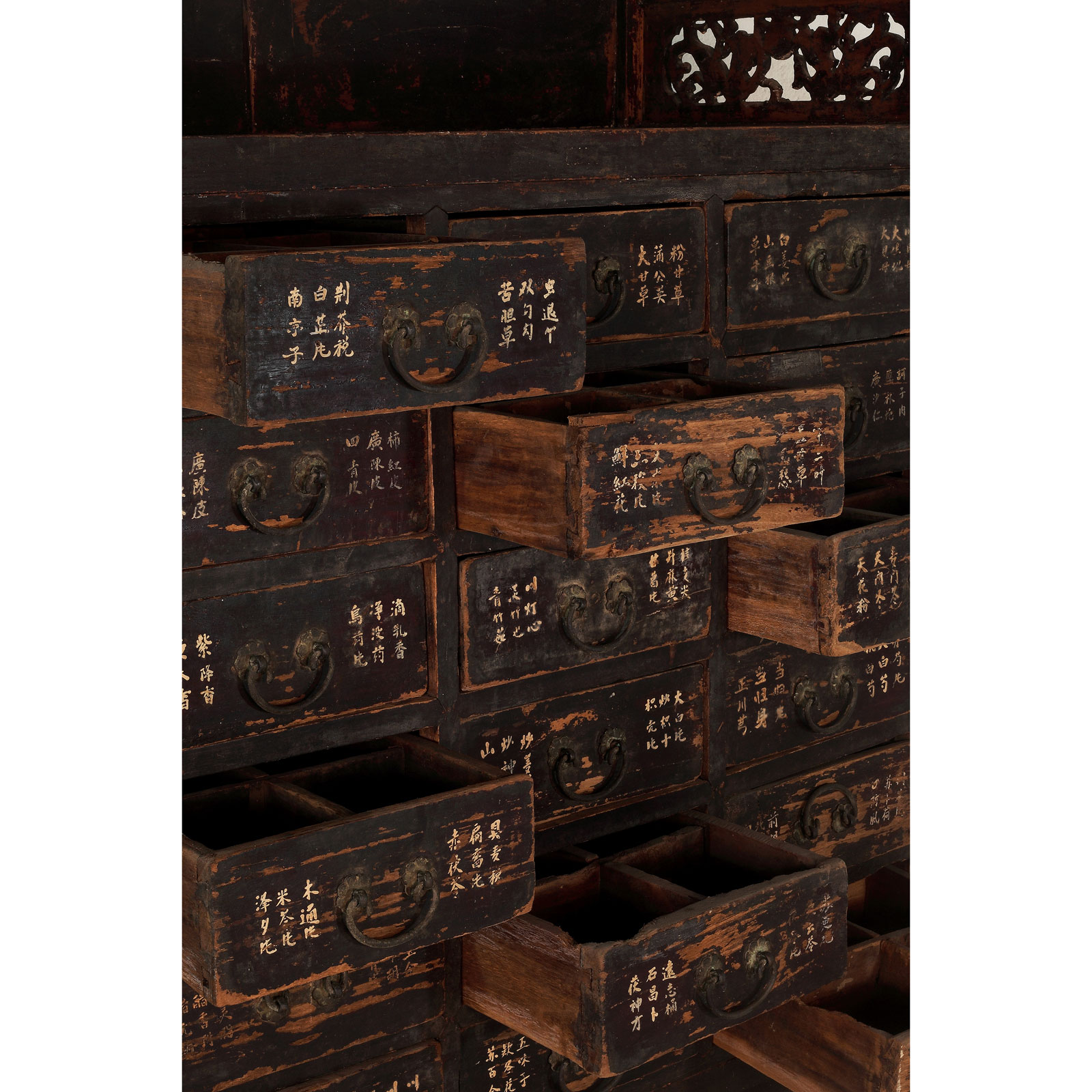 meuble d apothicaire oriental spirit gallery. Black Bedroom Furniture Sets. Home Design Ideas