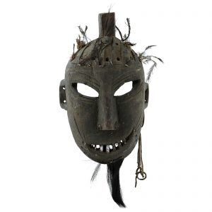 Masque Yao, antique, sud de la Chine, minorite yao lantien, art primitif et tribal
