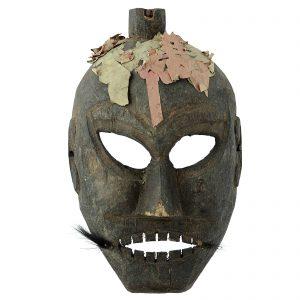 Masque Yao, antique, Lantien, sud de la Chine, minorite Yao, art primitif et tribal