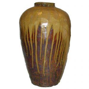 Jarre à vin, antique, 19 siècle, Chine, Shanxi, céramique, poterie, art oriental